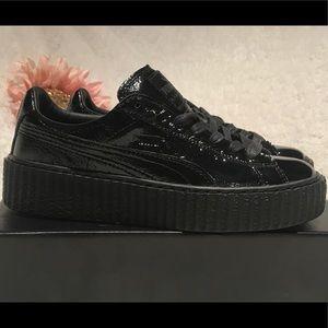b8dba789bca804 Fenty Puma by Rihanna Creeper Black Size 7.5 NIB
